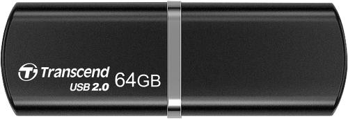 Флеш-память USB Transcend 64GB JetFlash 320 Black [TS64GJF320K]