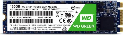 Накопители SSD Western Digital 120GB Green M.2 2280 [WDS120G1G0B]