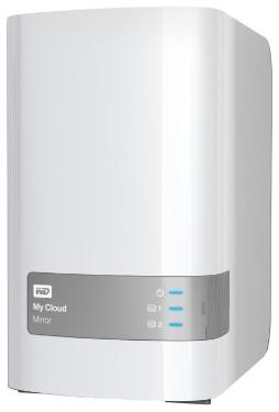 Сетевое хранилище (NAS) Western Digital 8TB My Cloud Mirror [WDBWVZ0080JWT-EESN]