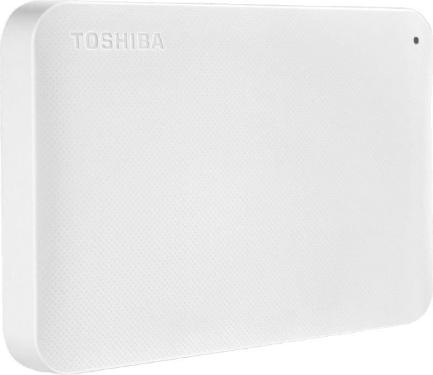 Жесткий диск внешний 2,5' TOSHIBA 500GB Canvio Ready White [HDTP205EW3AA]