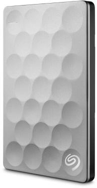 Жесткий диск внешний 2,5' Seagate 1TB Backup Plus Ultra Slim Platinum [STEH1000200]