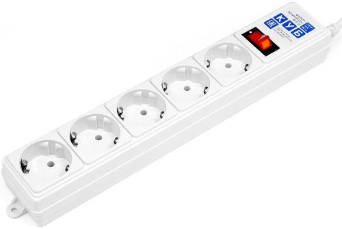 Фильтр-удлинитель Power Cube 1.9m 5 Sockets White [SPG-B-6-WHITE]