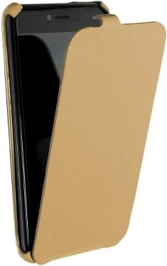 Чехол для смартфона BQ 5037 Strike Power 4G Cover Book Flip Gold