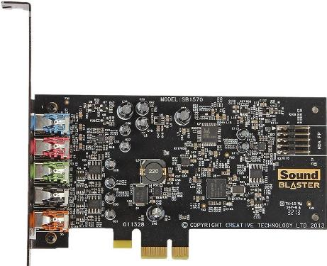 Звуковая карта Creative PCI-E Audigy FX 5.1 [70SB157000000]