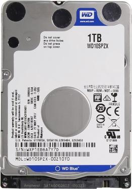 Жесткий диск 2,5' Western Digital 1TB Blue [WD10SPZX]