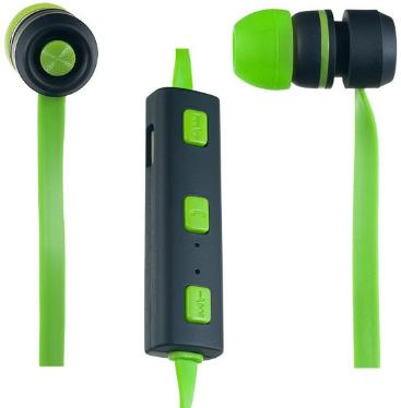 Гарнитура Perfeo Sound Strip Bluetooth Green-Black