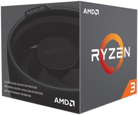 Процессор AMD RYZEN X4 R3-1300X BOX [YD130XBBAEBOX]