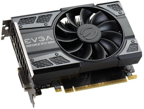 Видеоадаптер PCI-E EVGA GTX 1050 GAMING ACX 2.0 2GB [02G-P4-6150-KR]