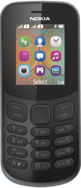 Телефон Nokia 130 DS Black