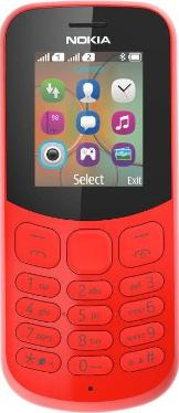 Телефон Nokia 130 DS Red