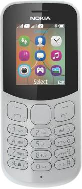 Телефон Nokia 130 DS Grey