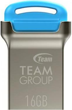 Флеш-память USB Team 16GB C161 Drive Blue [TC16116GL01]