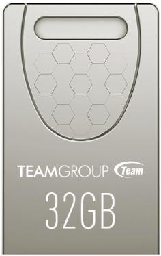 Флеш-память USB Team 32GB C156 Drive Silver [TC15632GS01]
