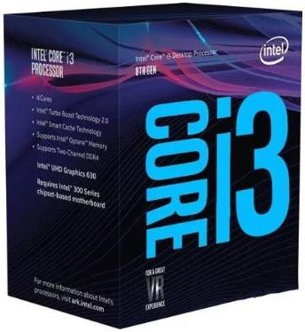 Процессор Intel Core I3-8100 BOX [BX80684I38100]