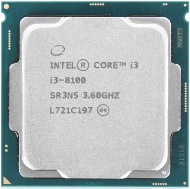 Процессор Intel Core I3-8100 Tray [CM8068403377308]