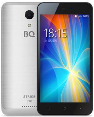 Смартфон BQ 5044 Strike LTE Silver Brushed