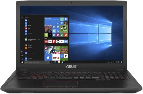 Ноутбук ASUS FX553VE [FX553VE-DM347, 90NB0DX4-M05360]
