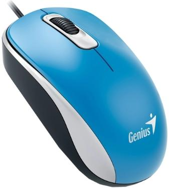 Мышь Genius DX-110 Blue USB [GEN-31010116103]