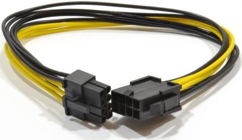 Кабель питания внутренний GEMBIRD PCI-Express 8pin/M->PCI-Express 8-pin/F 30cm [CC-PSU-84]