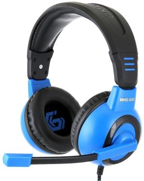 Гарнитура GEMBIRD MHS-G50 Black-Blue