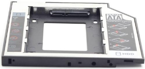 "Карман-адаптер Slim-DVD для SSD,HDD 2,5"" GEMBIRD MF-95-02 12,7mm [MF-95-02]"