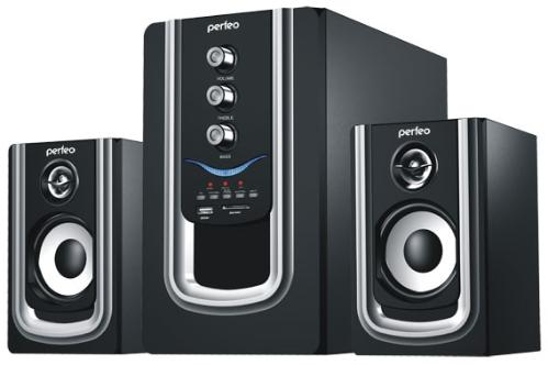 Колонки Perfeo PF-102-BT Rivera Bluetooth Black-Silver
