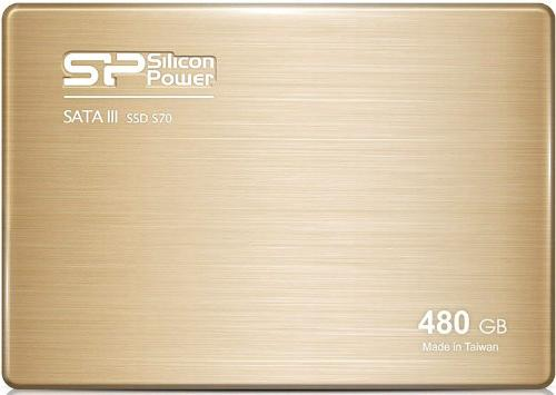 Накопители SSD Silicon Power 480GB S70 [SP480GBSS3S70S25]
