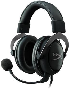 Гарнитура KINGSTON HyperX Cloud II Gun Metal [KHX-HSCP-GM]