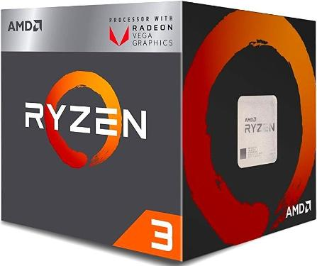 Процессор AMD RYZEN X4 R3-2200G BOX [YD2200C5FBBOX]