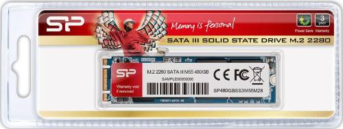 Накопители SSD Silicon Power 480GB M55 M.2 2280 [SP480GBSS3M55M28]
