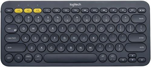 Клавиатура Logitech K380 Multi-Device Bluetooth Dark Grey Wireless [920-007584]