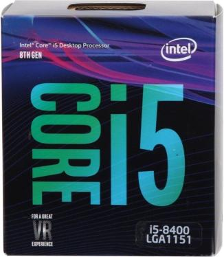 Процессор Intel Core i5-8400 BOX [BX80684I58400]