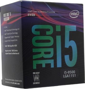 Процессор Intel Core i5-8500 BOX [BX80684I58500]