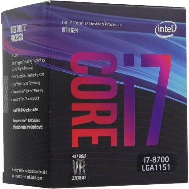 Процессор Intel Core i7-8700 BOX [BX80684I78700]