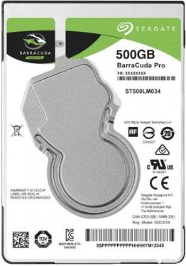 Жесткий диск 2,5' Seagate 500GB BarraCuda [ST500LM034]