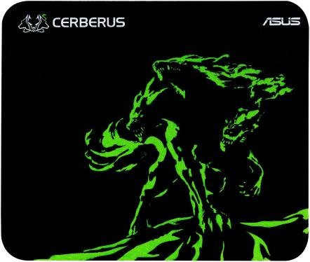 Коврик ASUS Cerberus Mini Black-Green [90YH01C4-BDUA00]