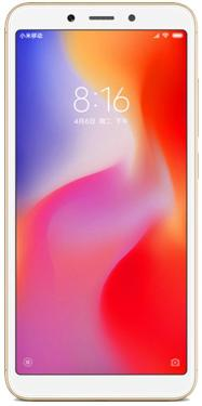 Смартфон Xiaomi Redmi 6A 16GB Gold