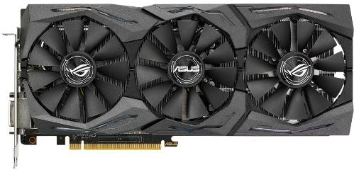 Видеоадаптер PCI-E ASUS STRIX-GTX1060-A6G-GAMING