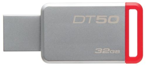 Флеш-память USB KINGSTON 32GGB DT 50 Silver [DT50/32GB]