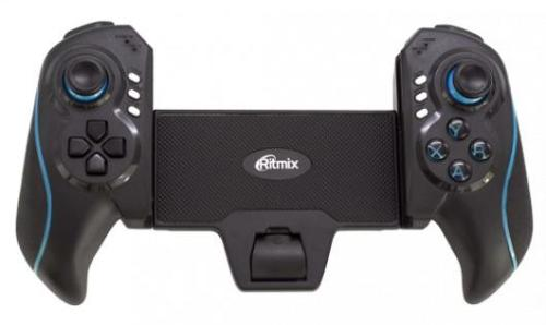 Геймпад Ritmix GP-051BTH Black-Blue Wireless