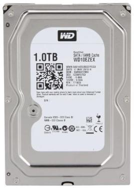 Жесткий диск 3,5' Western Digital 1TB Blue Factory Recertified [WD10EZEX_FR]