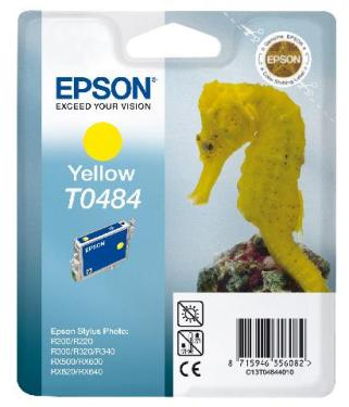 Чернильница Epson PHOTO R200/R300 Yellow [C13T04844010]